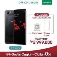 OPPO F7 Youth 4GB/64GB -AI Beauty Technology 2.0 Black