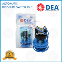 "Otomatis (Pressure Switch) Type 0.75 - Drat 1/4"" (Sparepart Pompa Air)"