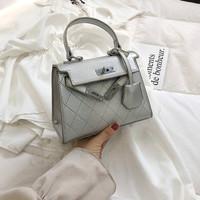 88997 Tas Import Tas Wanita Tas Impor Tas Handbag Tas Jinjing Silver