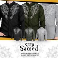 Harga risrus fashion koko samed pria baju muslim cowo cowok motif | antitipu.com