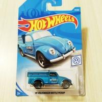 Hotwheels Volkswagen VW Beetle Pickup Blue