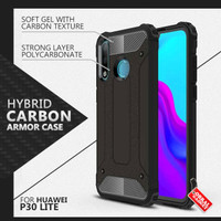 Armor Case Huawei P30 Lite Soft Softcase Hard Hardcase Casing Cover