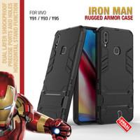 Armor Case Vivo Y91 Y93 Y95 Soft Softcase Hard Hardcase Casing Cover