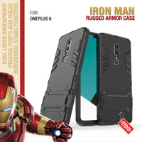 Armor Case OnePlus 6 One Plus Soft Softcase Hard Hardcase Casing Cover