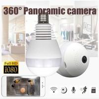 Diskon Ready Stock Kamera CCTV Tersembunyi Bentuk Bohlam 1080P