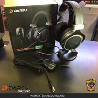 Dareu EH722 Pro with Soundcard External