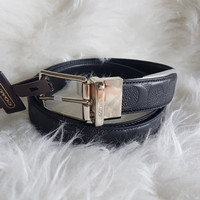 COACH F55158 ReversibleBelt-Black w box