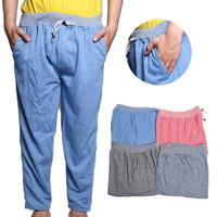 Season2 [Paket 4pcs] Celana panjang jumbo size /4warna