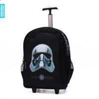 Tas Sekolah Star Wars Trolley 16 inch Adinata Anak Laki Laki Original