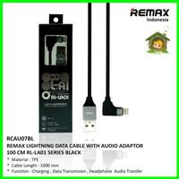 REMAX RL-LA01 1 m 2 in 1 Cable - Lightning Aux - Kabel Data