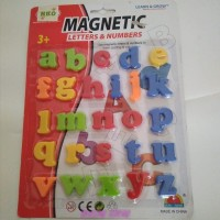 Magnetic Word - Huruf Magnet - Huruf Kecil Magnet