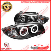 HEADLAMP - BMW E87 2004-2011 - SONAR - PROJECTOR - ANGEL EYES