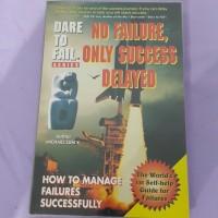 buku No Failure, only Success Delayed