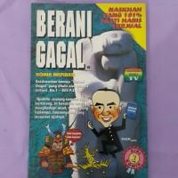 Komik inspirasi BERANI GAGAL
