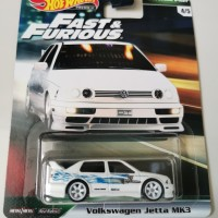 Hot Wheels Volkswagen VW jetta mk3 Fast Furious Premium FNF hotwheels