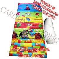 Harga kasur gulung atau lipat kasur murah ada bantalnya langsung | antitipu.com