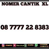 nomor cantik xl 08 7777 22 8383