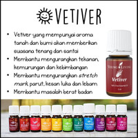 Vetiver Young Living Essential Oil 5ml Ori