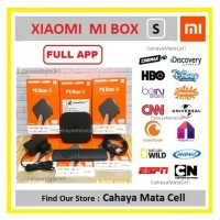 Xiaomi Mi Box S Full App 4K HDR International Version Mibox S