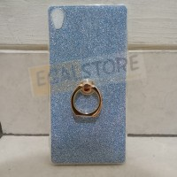 (SALE!) Soft Case Sony Xperia Z3 glitter warna biru