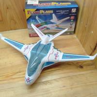 Mainan Pesawat Flash Plane Light 3 D and Sound