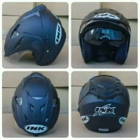 Helm Ink Double Visor, Centro Dan Topi Cx22