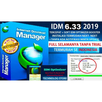 IDM Internet Download Manager TERBARU 2019 FULL TERCEPAT + OPTIMIZER