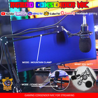 RG800 Condenser Microphone for Streamer / Youtuber