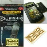 Stiker Penguat Sinyal HP Modem / Signal Booster Android Tablet Laptop