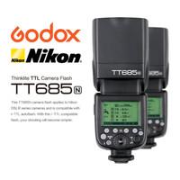 Godox TT685N Nikon TTL HSS Flash Speedlite TT685 TT 685 Nikon TT-685 N