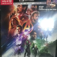 Avengers Infinity Wars Target Exclusive Bluray Original