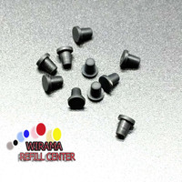Karet Rubber Penutup Lubang Bor Cartridge Refill Suntik Tinta
