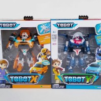 Tobot X Ryan - Tobot Y Kory Transforming car to Robot - ori Young toys