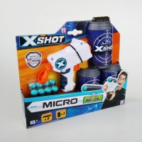Emco Zuru X shot Micro - Soft Gun pistol Mainan anak
