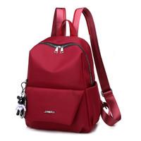 ransel tas fashion batam tas punggung bagpack merah 85141 import