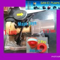 Flow switch body besar 1inch SAN EI otomatis pompa air booster zps was