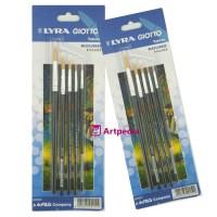 LYRA Art Brush Round Set 5 pcs - Kuas Set Merk Lyra Berkualitas Paling