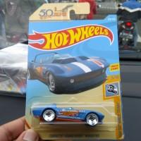 Hotwheels Corvette Grand Sport Roadster HW 50 th 50th Race Team Biru