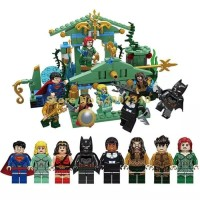 Aquaman Batman Superman Minifigure Lego Super hero 98013