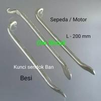Kunci Sendok ban besi (3 pcs) bisa untuk motor dan sepeda