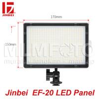 Jinbei EF Panel 20 LED Bicolor 3300-5500K EF-20 EFP20 EF 20 RA CRI95