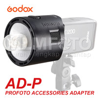 Godox AD-P AD200 Flash Adapter For Profoto Mount Accessories ADP