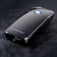 Korek Api Elektrik Pulse Plasma Arc Lighter - USB-011 - HITAM
