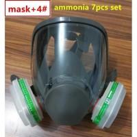 3M Masker Gas Amonia Full Face Respirator - 6800 no.4