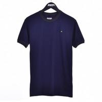 RING NAVY / Men Short Sleeves Tshirt Navy - Premium Nation Original
