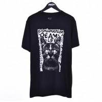 KITTY / Men Short Sleeves Tshirt Black - Premium Nation Original