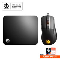 Steelseries Rival 710 Gaming Mouse Bundle Qck Hard