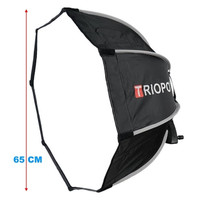 Softbox Triopo Octagonal KS65 Diameter 65cm
