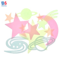 Wall Sticker Bulan Bintang Glow in the Dark Moon Star | 57