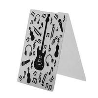 Guitar Instrument Embossing Folder
